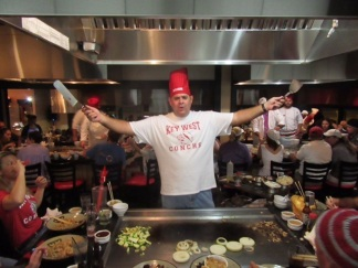 Benihana Celebrity Chef